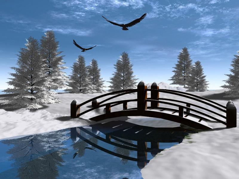 Inverno sfondo xp sfondi desktop sfondi gratis da for Sfondi gratis desktop inverno