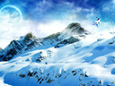winter wonderland wallpaper by mpk